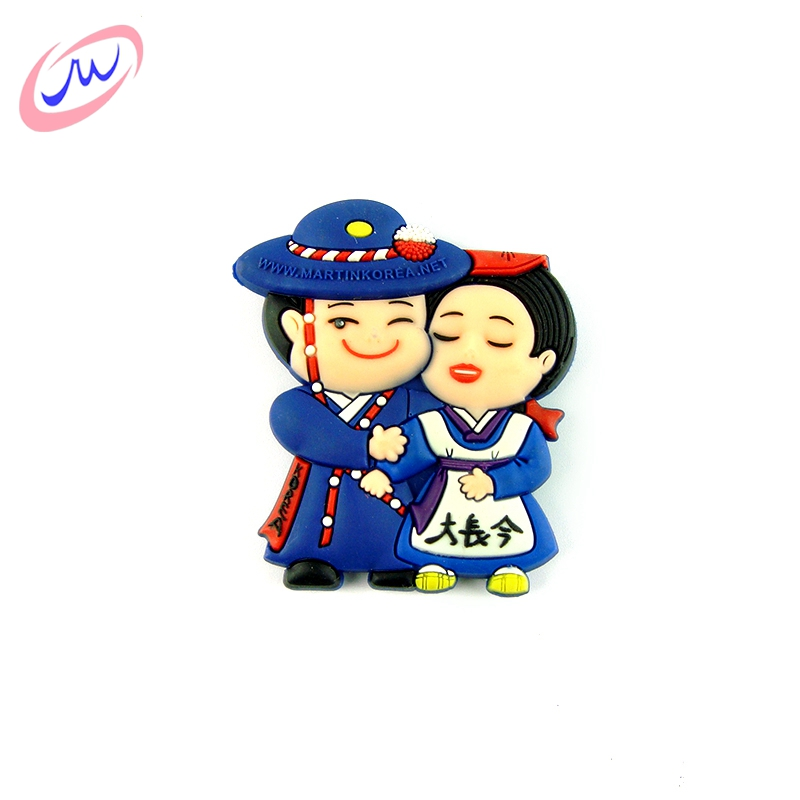 China supplier customizable souvenir keychain fridge magnet