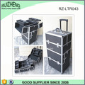 Rolling Trolley Makeup Train Case Cosmetic Organizer