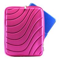 Wave Design iPad Tab Sleeve Hot Pink Pouch
