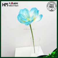 polyester artificial flower artificial floating lotus flower