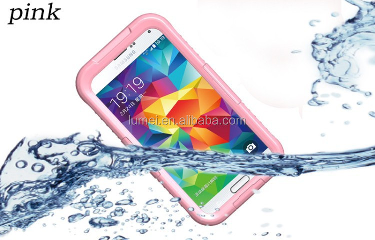 Hot Selling Shockproof Waterproof Case Cover For Samsung Galaxy S5 Mobile Phone, waterproof case for samsung galaxy j3 j1