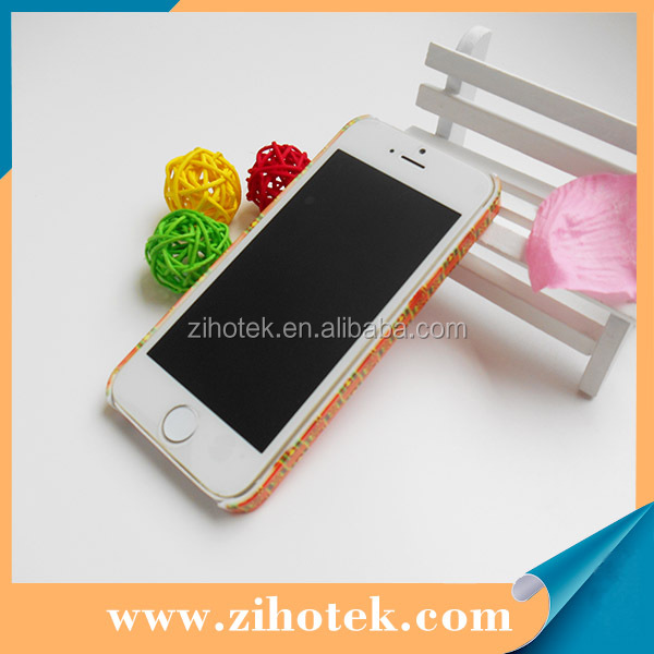 3D sublimation cases for 5GS/5s blank cover case printing