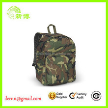 eco-friendly 600D polyester Camouflage laptop backpack