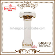 White european style plastic rome pillar stand 846AFS