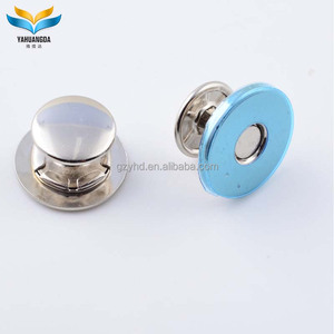 YHD wholesale 18mm magnetic snap button for handbag