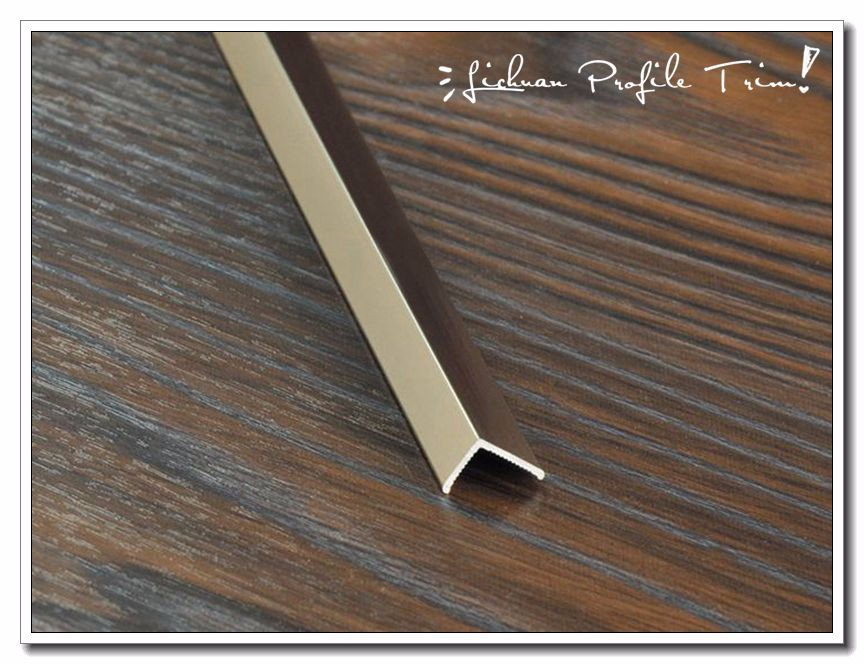 Professional factory supply excellent quality l shaped tile trim from direct factory