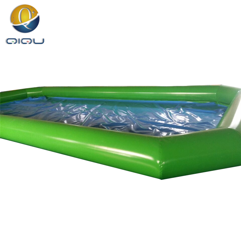 Hot Selling Portable Green Inflatable Swimming Pool PVC For Kids An Adult