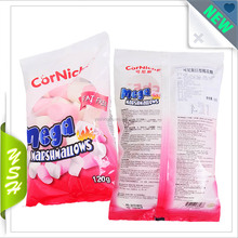 Food packet marshmallow cotton packaging daypack bag