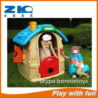 Indoor playground cheap plastic playhouse/plastic kids playhouse/play house