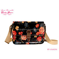 2016 Fashionable Candy Flowers Ladies Cross body Bag Messenger Handbag