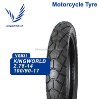 56% Rubber Touring 100/90-17 110/90-17 Motorcycle Tubeless Tire