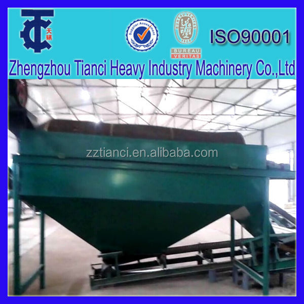 Factory directly supply organic fertilizer/animal feed vibrating screen machine