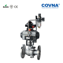 Acid resistant high temperature teflon lined ball valve