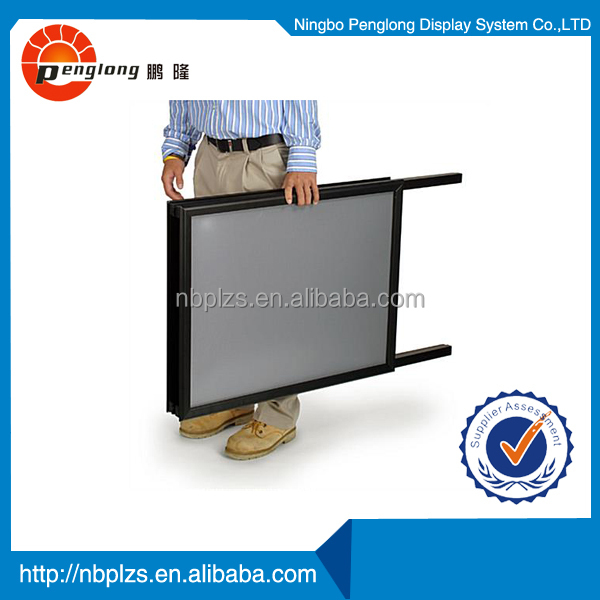 70*100 black sidewalk display hotel sign stand snap <strong>frame</strong> a board