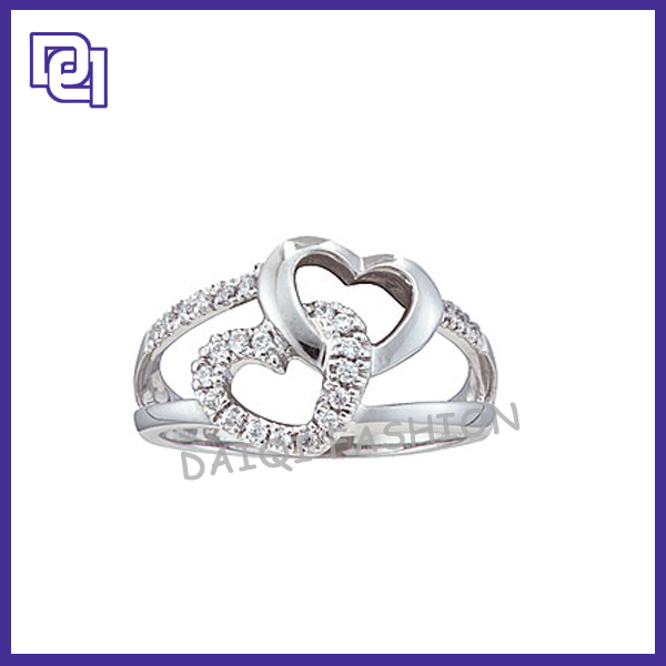 2014 Heart Shape Gear Wedding Ring Prices