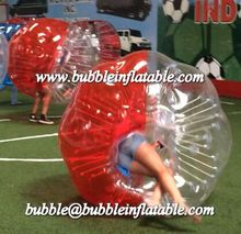 inflatable belly bumper ball/bubble soccer ball made in China