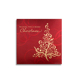 Customized Elegant Packaging Christmas Thank You Greeting Cards