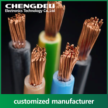 1.5mm 2.5mm Single core PVC coated copper electric cable wire price