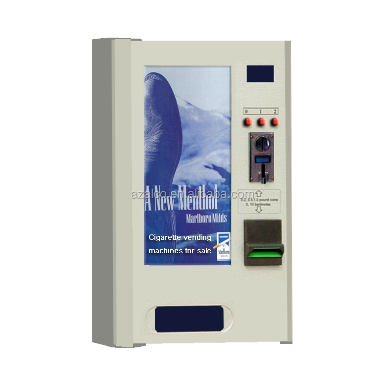 2015 wall mounted cigarette vending machine for sale