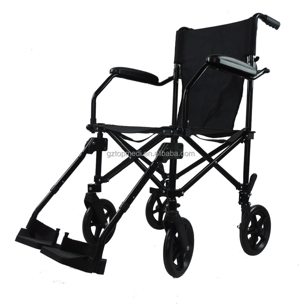 FDA CE 818LB Height Adjustable Folding Super Light weight Wheelchair Allowed travel by plane with Travel Bag