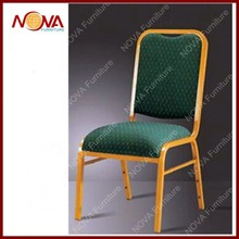 hotel furniture used metal banquet chair for sale