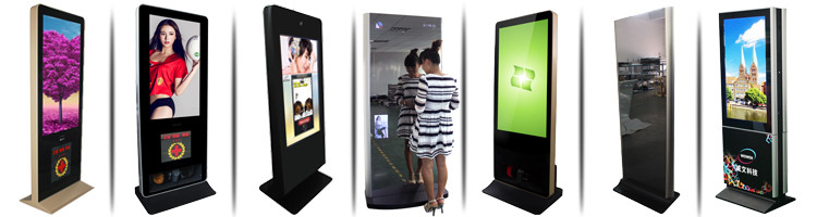 43inch android network digital stand floor cheap kiosks multi touch screen kiosk