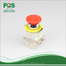 LAY3 Copper Contact Red Small Pushbutton Switch