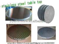 rust protection stainless steel round table top T01,T02