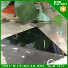 manufacture color decorative stainless steel 304 ti mirror for cookware set
