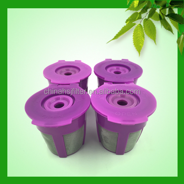 Tableware k cup filter reusable in packaging bags by Chinese gold suppliers