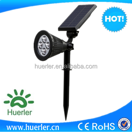 IP65 outdoor waterproof wall lights all-in-one led solar garden lamp light