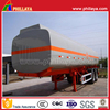 42000L carbon steel fuel tank truck trailer,oil crude storage tank
