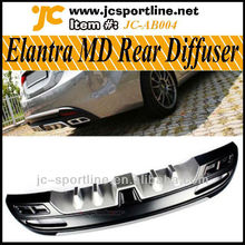 10-12 Diffuser For Hyundai Elantra (Avante) MD Bumper With Painted Guard