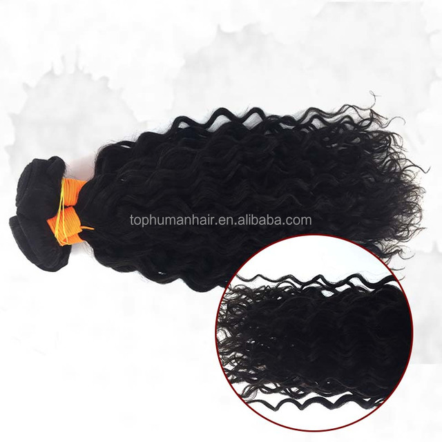 Water Wave Hair / Wave Curls Peruvian Hair / Brazilians Hair Extension