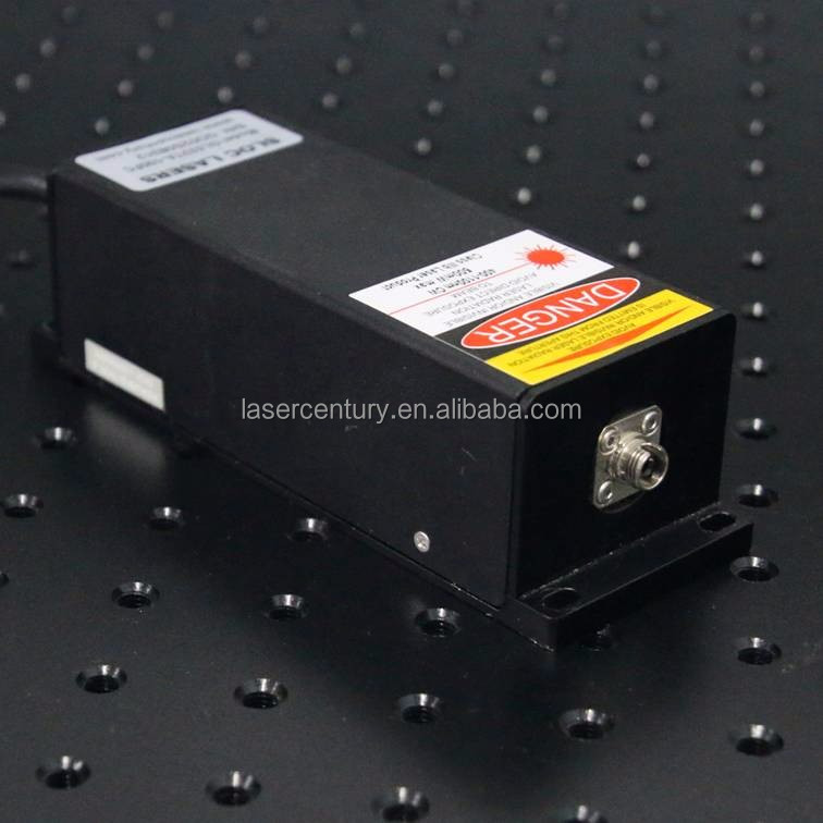 UVM375TA-050FC, Adjustable Power Supply ADR-180A, 50mW 375nm UV Diode <strong>Laser</strong>, with Fiber Coupled, CW, 3% Power Stability