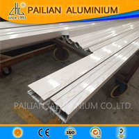 WOW! ZHL factory specialized in aluminum extrusion profiles, producing wood grain transfer aluminum profile,