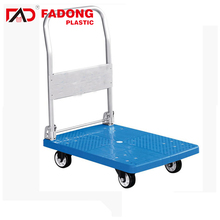 heavy duty platform goods carrying transportation trolley Hand Truck Carts