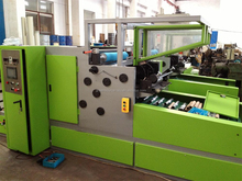 Automatic auminum foil rewinder and cutter machine