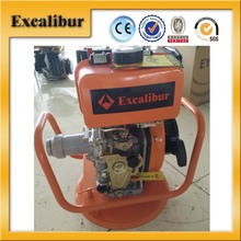 Customized Protable 10HP Manual Start Diesel Concrete Vibrator For Construction Work