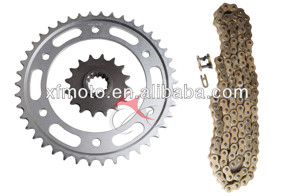 Motorcycle Sprockets and Chain Kit set for Honda 2003-2006 CBR600RR