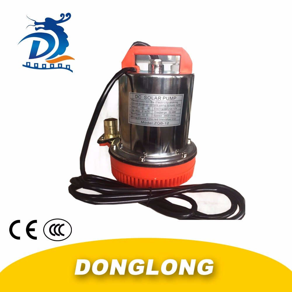 DL HOT SALES DC SOLAR WATER PUMP 24V DC RO BOOSTERN PUMP DC WATER PUMP