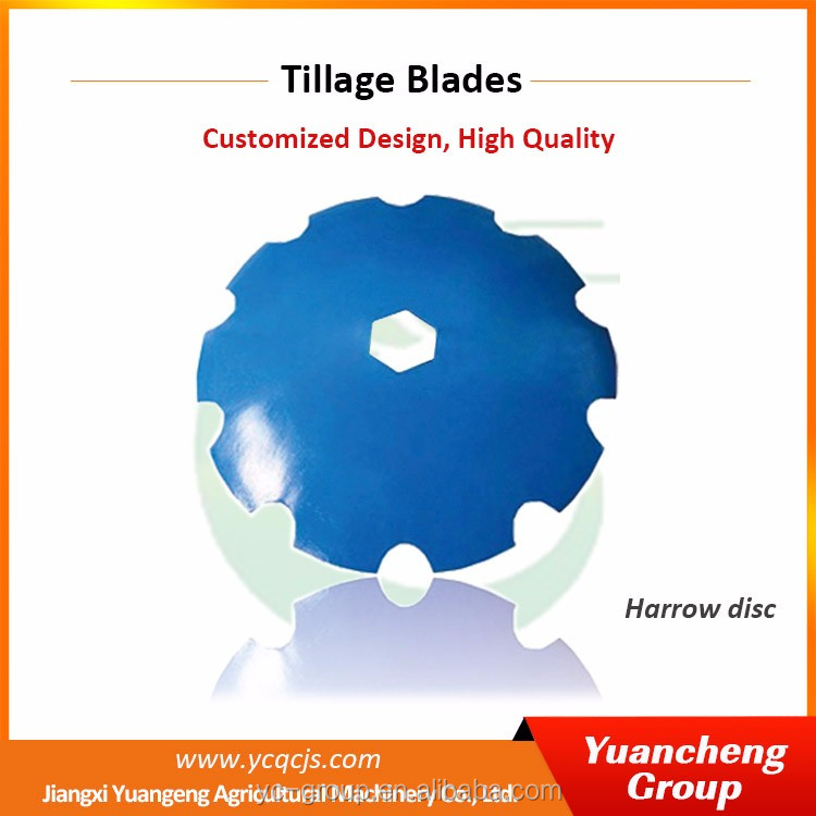 China Factory Manufacturing Offers Parts Spares Boron Steel Rotavator Blade Tractor Plough Parts Harrow Disc
