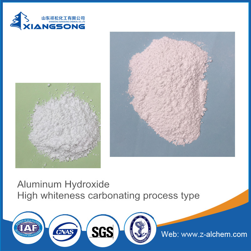 High whiteness Aluminum hydroxide flame retardant for rubber,for cables manufacture