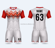 Customize Best quality ZHOUKA football jersey sublimation soccer uniform