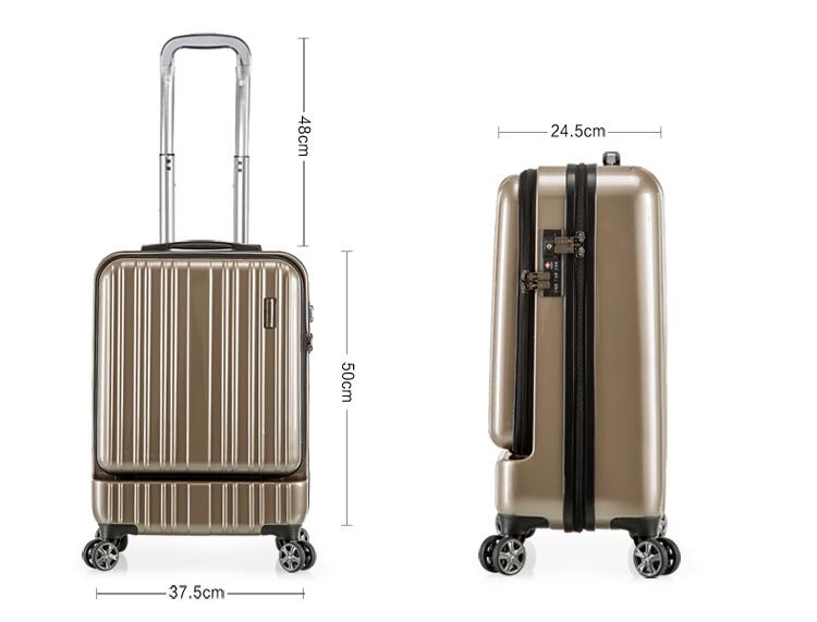 big brand design polycarbonate pc travel trolley luggage buy luggage trolley luggage pc. Black Bedroom Furniture Sets. Home Design Ideas