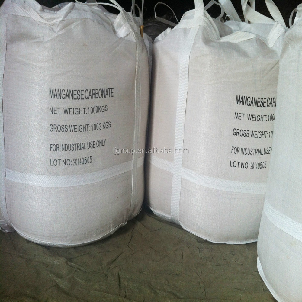 Manganese Carbonate(MnCO3)44% Tech grade CAS:598-62-9 used in fertilizers manganese salts.