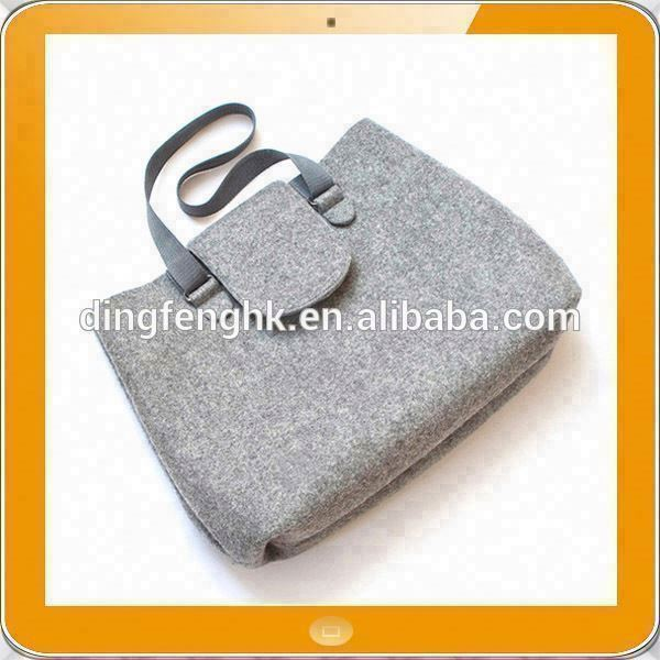 Hot promotion eco friendly felt single strap shoulder bag