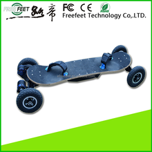 Factory price 4 wheel dual belt drive adults outdoor sports eletric skateboard