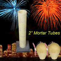 "fireworks fiberglass tubes/2"" size Display Shells mortar Tubes with a base/good quality/on sale"