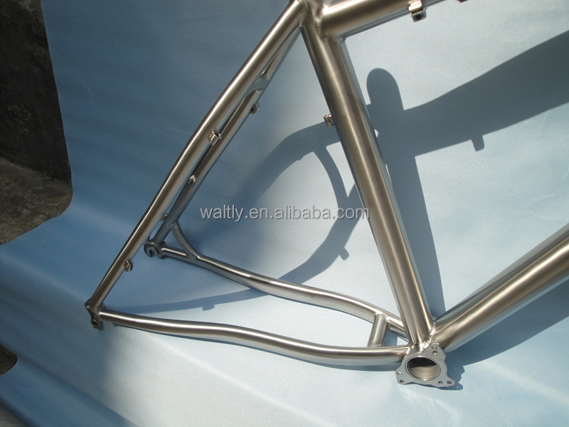 Waltly MTB titanium bicycle frame with ISCG-05 WTL-M457